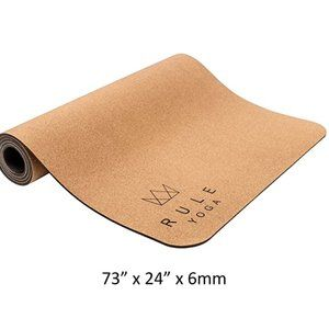 rule yoga Other - Minimalist's yoga mat - Rule yoga, cork thick mat